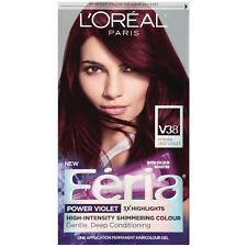 LOreal Paris Feria Power Violet Colour, Intense Deep Violet [V38] 1 ea