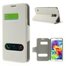 Business Case Cover Samsung Galaxy S5 / SM-G900F / GT-I9600 weiß