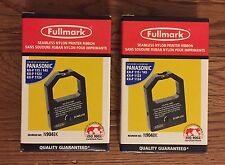 Lot Of 2 new sealed Fullmark Seamless Nylon Printer Ribbon Panasonic 2904RD