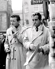 "PATRICK MACNEE AND IAN HENDRY IN ""THE AVENGERS"" - 8X10 PUBLICITY PHOTO (ZZ-795)"