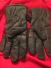 US. MILITARY ISSUE BLACK LEATHER COLD WEATHER GLOVES USGI  SIZE 6  XX-LARGE
