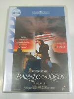 Bailando con Lobos Kevin Costner - DVD Region 2 Español Ingles Nueva 2T