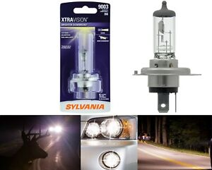 Sylvania Xtra Vision 9003 HB2 H4 60/55W One Bulb Head Light High Low Dual Beam