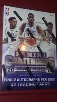 2015-16 Panini Contenders Basketball  Box  Find 2 Autographs Box ? Towns Booker