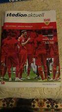 stadionzeitung  VFB STUTTGART-Borussia Dortmund:,23-04. 16.