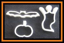 3 pc Halloween Cookie Cutter Set #11 EUC