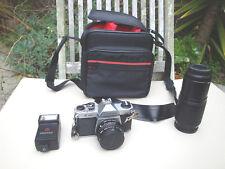 Pentax K1000 35mm SLR Film Camera w/S1:2 50mm Lens