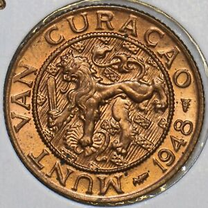 Curacao 1948 2 1/2 Cents 297787 combine