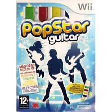 Nintendo Wii PAL version pop Star Guitar (con Air guitar)