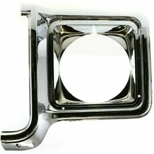 New Driver Left Side Headlight Door Headlamp Bezel For Chevy Blazer 1973-1980