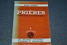 PRIERES par Michel Quoist, éditions ouvrières 1964