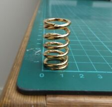 tremolo spring for vintage/old guitar in 'gold' finish