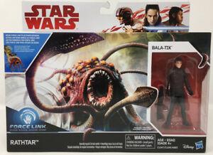 Star Wars Last Jedi Rathtar with Bala-tik Creature & Figure   T 12