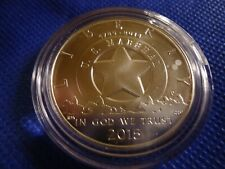 2015 P U.S. Marshall's Service 225th Commemorative silver dollar BU OGP & COA