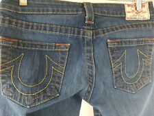 True Religion Women's Jeans Style Section Bobby Size 28 x 31 Classic stitching