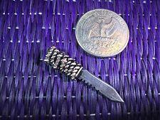"""Wasteland Blade #6"" 1:6 Scale Knife Custom Steel Miniature By Auret"