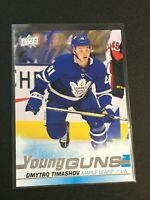 F60312  2019-20 Upper Deck #460 Dmytro Timashov YG RC MAPLE LEAFS YOUNG GUNS