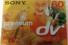 6 X Sony Premium Mini DV 60 Digital Video Camcorder Cassette Tapes New Sealed