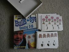 Bull's Eye COUNTING 0-10 Activity Cards Trend Enterprises  INDEPENDENT ACTIVITY