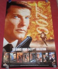The James Bond Collection 007 Poster 27 x 40 Video Promotional covers 1996