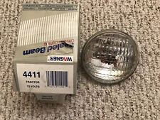 Compatible with David Brown Tractor 4-1//2 L4411 1 Pc of 4411-1 Clear 12 Volt Par36 Sealed Beam Bulb Headlight