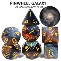 Pinwheel Galaxy Concept Dice Set