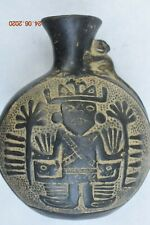 "Sale! Pre Columbian Chimu Bowl 6"" Prov"
