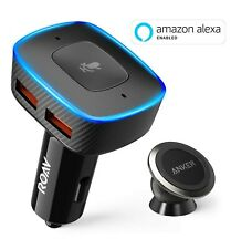 Roav VIVA with Car Mount, by Anker, Alexa-Enabled 2-Port USB Car Charger
