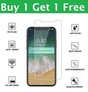 Tempered Glass Screen Protector For iPhone 12 11 Pro Max iPhone XR X XS Max
