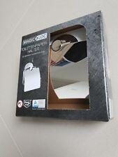 MAGIC LOC Edler Toilettenpapierhalter Edelstahl ohne Bohren NEU Geschenk
