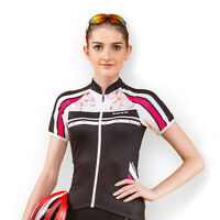 New Women's Cycling Jerseys Bike Bicycle Cycling Jackets Short Sleeve M-XL