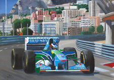 Litho Benetton Ford B194 1994 #5 Michael Schumacher (GER) by Toon Nagtegaal OE
