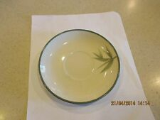 "VINTAGE WINFIELD WARE GREEN BAMBOO CALIFORNIA POTTERY 5 3/4"" SAUCER"