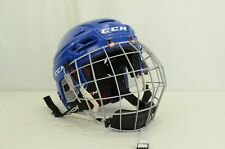 Ccm Resistance 300 Ice Hockey Helmet Combo Royal Size Small (0821-C-Res300-S-B)