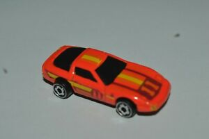 1982 Hot Wheels Micro Color Racers 1980's Corvette Red Color 2 In Long Malaysia