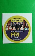"MASTERCHEF JUNIOR CAST COMING SOON TV GETGLUE GET GLUE SM 1.5"" STICKER"