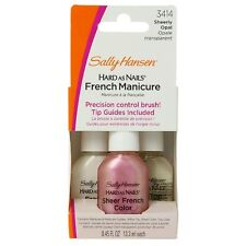 Sally Hansen Hard as Nails French Manicure Kit, Sheerly Opal [3414] 3 ea