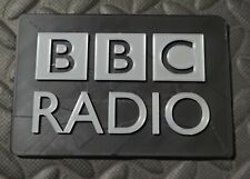 BBC Radio Vintage Microphone Call Letters Stand Flag Antique Logo 3D printed