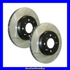Stoptech Sport Slotted Disc Brake Rotor Rear Left & Right BMW S50/ S52 e36 M3