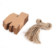 50pcs Brown Kraft Paper Wedding FavorChocolate Gift Party Supply Boxes