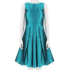 Michael Kors Luxurious Shimmering Aqua Turquoise Dress US6 IT42 UK10