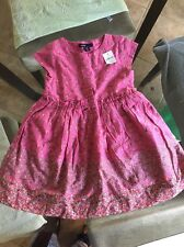 Baby Gap Girl Floral Pink Dress NWT 3Years