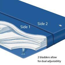 """King Dual Galaxy 4 Waveless Lumbar 8"""" Softside Waterbed Mattress+Thermal Divider"""
