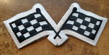 New listing Checkered flags patch