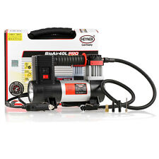 Premium heavy duty 12V air compressor 40L 100PSI tyre inflator with LED LAMP