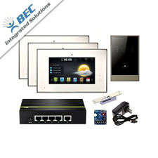 Video Entry Monitor Bluetooth Hd Camera Kit & Intercom Security System Voice