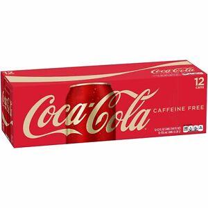 Coca Cola Caffeine Free Soda Soft Drink 12 pack Coca-Cola