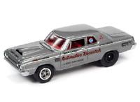 A.S.S NEU Dodge 330 Dick Landy Research Johnny Lightning 1/64 Classic Gold 2020