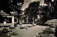 Bullay Mosel AK 1956 Partie Hotel Berghotel Marienburg Terrasse Außenbereich