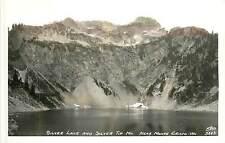 Washington, WA, Near Monte Cristo, Silver Lake & Silver Tip Mt Real Photo PC